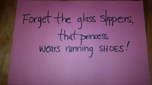 Who needs glass slippers????