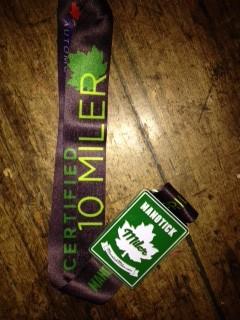 Last year's  Miler medal