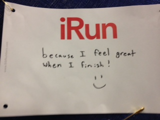 Evan's iRun because...