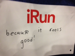 Luke's iRun because...