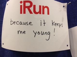 My iRun because...