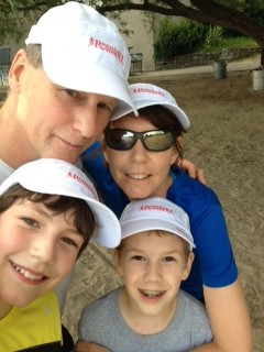 My running family.