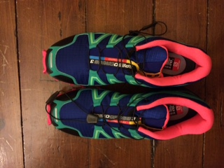Salomon Speedcross 3's without Climate Shield.